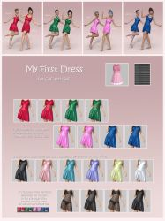 My First Dress for G8F and G3F (release) by BubbleCloud