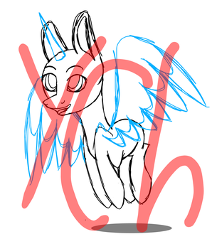 jumping mlp YCH (closed) by BlankFandoms