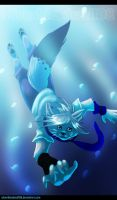 water light :.commish.: + video link added by Silverbloodwolf98