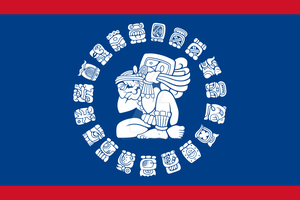 Belize Flag Proposal by Gouachevalier