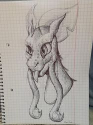 Dragon sketch by DralisVaalsaar