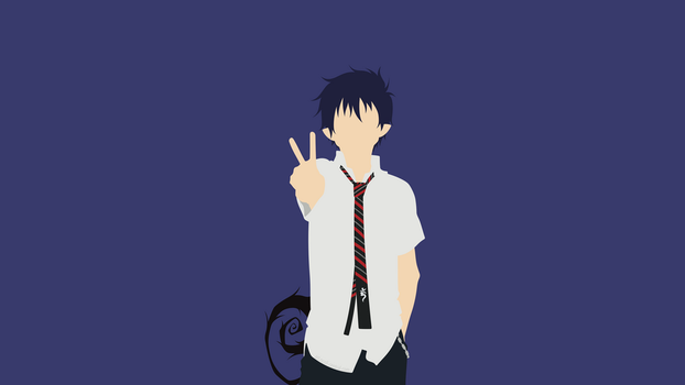 Rin Okumura (Blue Exorcist) by ncoll36