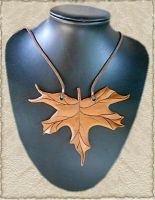 Leren ketting 20 by Eternal-designs-com