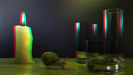 Snail by 3D-Stereoimage