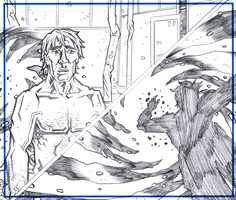 NAKED MAN AT THE END OF TIME - Page 23 Pencils by KurtBelcher1