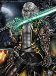 Alucard ((Smille)) - Castlevania Lords of Shadow 2 by Bluue-Rose