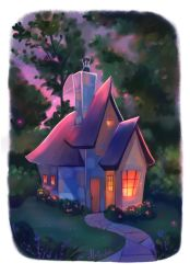 At Pink Twilight by Mellodee