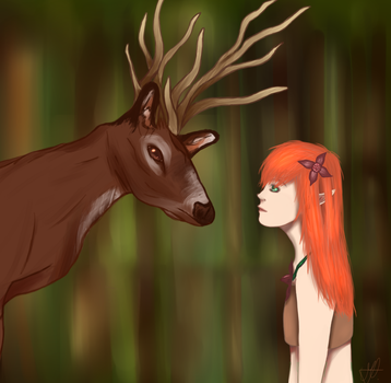 In touch with the wild dreams by MelanieMushroom