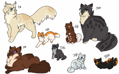 Adoptables/Breedables !!! (open) by Nizumifangs