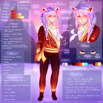 Rai's Reference by Anoixi