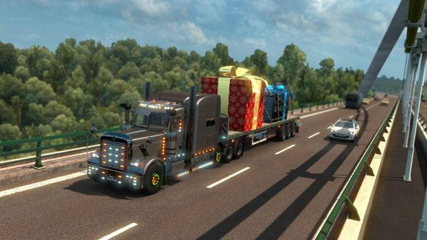 ETS 2 - Peterbilt 389 - 1 by HappyLuy