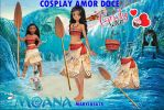 PACK COSPLAY AMORDOCE MOANA by Marylusa18