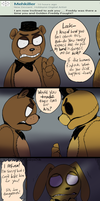 FNAF - Ask#19 What Goldie Would Fight For by Atlas-White