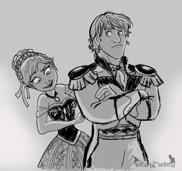 Kristoff And Anna - Prince Getup by cjtwins