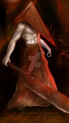 Red Pyramid by Nicrat