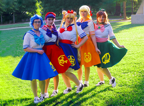 SAILOR MOON // Golden Hour by adrawer4ever