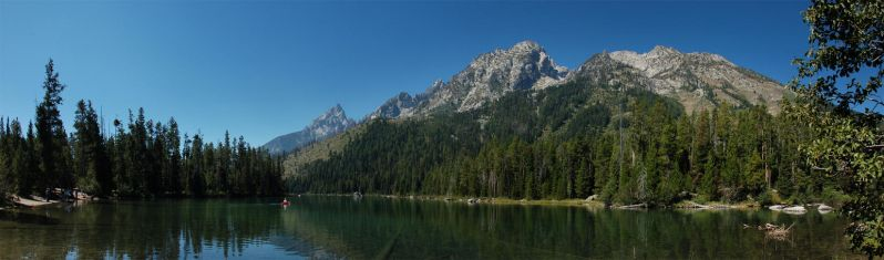 Teton String Lake 1 2007-08-25 by eRality