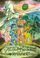 Redesign: Power Rangers Lost Galaxy by eveneechan