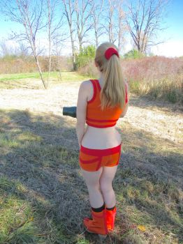 Metroid Zero Mission Cosplay by gonemushrooming