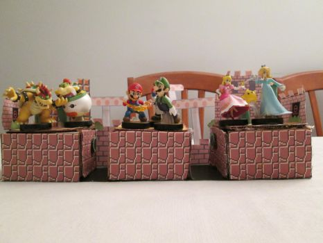 Amiibo Stand Stages - Kingdom by videogameking613