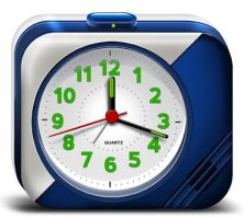 Electronic Alarm Clock Icons (PSD) by softarea