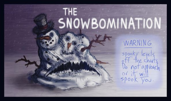 the Snowbomination by Leightoons