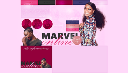 Ordered Layout ft. Black Panther Cast by Kate-Mikaelson
