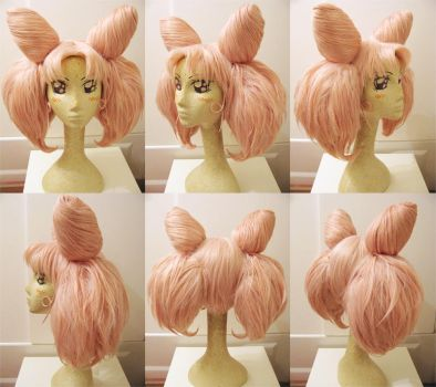 Chibiusa Wig Commission by Pisaracosplay