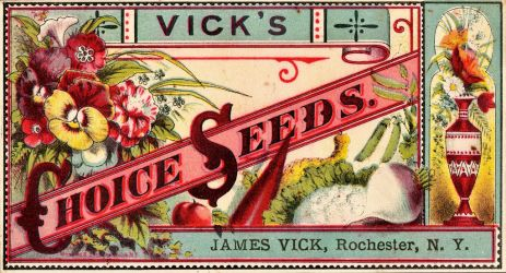 Victorian Advertising - Bountiful Gardening by Yesterdays-Paper