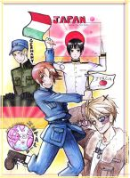 HETALIA AXIS POWERS by incaseyouart