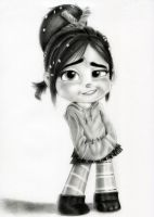 Vanellope - Seriously? by artistsncoffeeshops