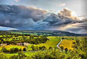 Clouds Over Stirling 001 hdr by BusterBrownBB