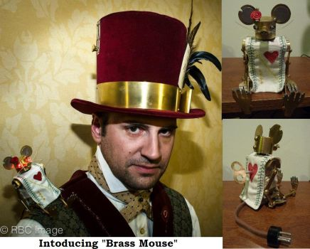 Introducing Steampunk Brass Mouse! by Challenger70TA