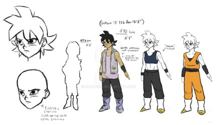 Teen Kira (tournament/buu saga) reference sheet by RMAlexis