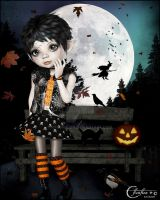 Choupinette d'Halloween by cflonflon