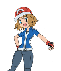 Request Serena Ash outfit by Snowdog-zic