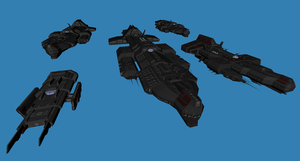 Hyperborean capital Ships preview by Chiletrek