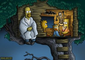 Treehouse of Horror by vonblood