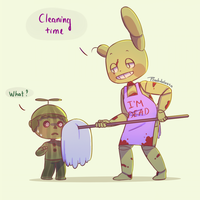 Spring-cleaning by Peachdalooza