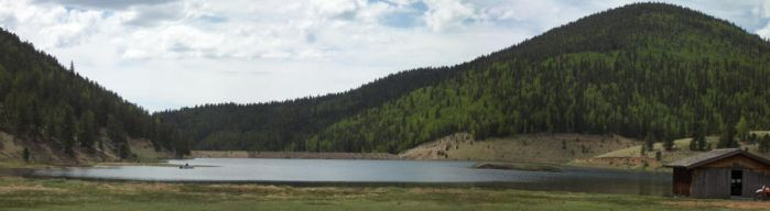 Colorado lake side by pixi152