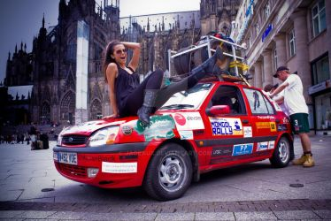 Mongol Rally 2009. by Jageaux