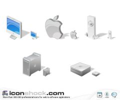Mac icons by Iconshock