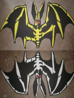 The Oogie Boogie Man's Bats by Shadowfox012