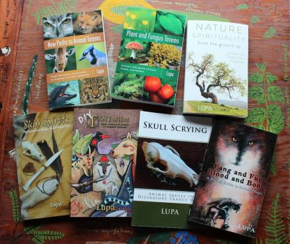 Awesome Nature Paganism Books! by lupagreenwolf