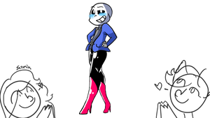 Sans Legs (too fab) by JazminTheSkeleton