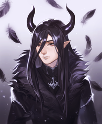 Commission by Xoue
