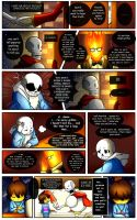 Reminiscence: Undertale Fan Comic Pg. 12 by Smudgeandfrank