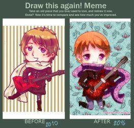 Before and After Meme by ConejoGris