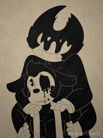 Boris and Bendy by NekoSugarStar