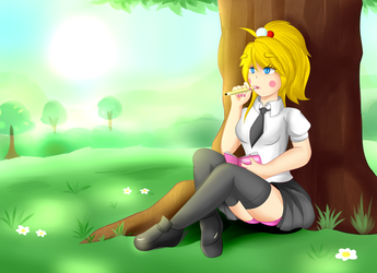 Yandere Chick ~ High School Years by A-006